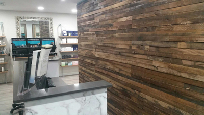 Wood Feature Wall modular feature wall systems - northern rivers recycled timber