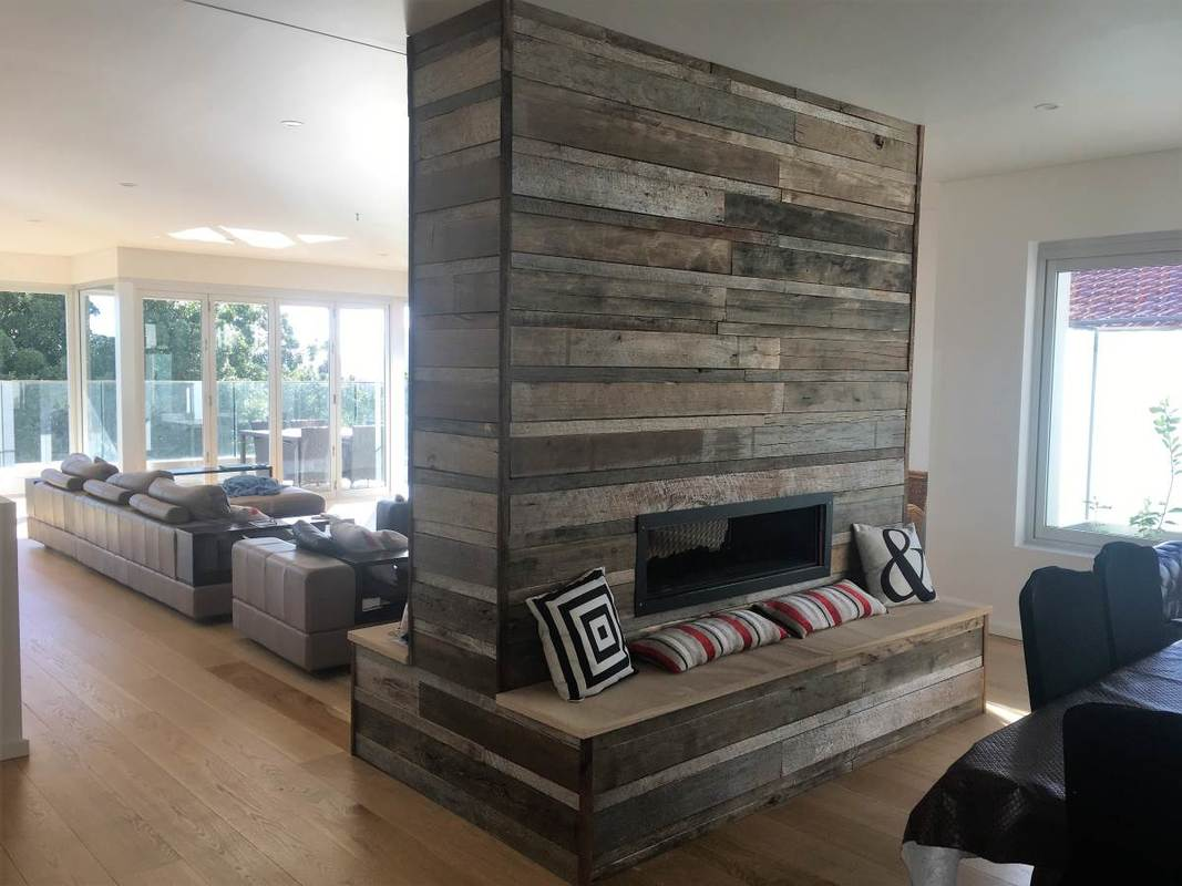 Living room design recycled wood projects northern for Recycled living room ideas