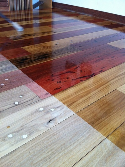 Our Railway Sleeper Floor Northern Rivers Recycled Timber