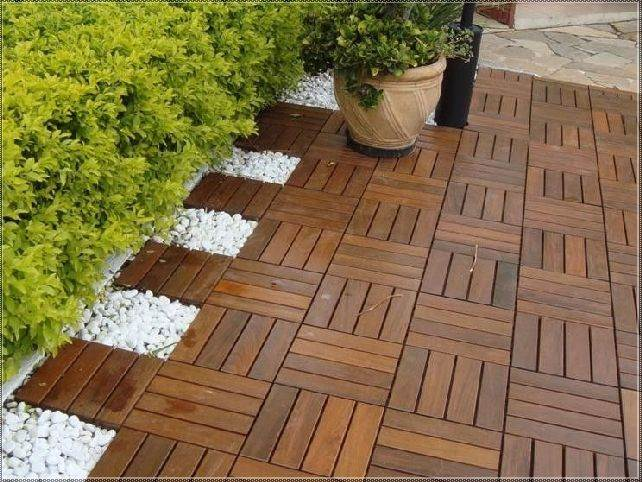 Deck tile gallery northern rivers recycled timber for Apartment balcony floor covering