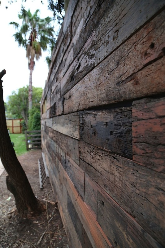 Artisan Railway Sleeper Feature Wall Panels Gallery