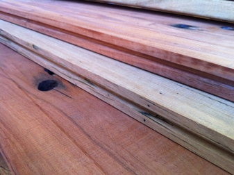 Railway Sleeper Tongue and Groove Flooring
